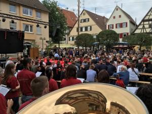 Eröffnung Marktplatzfest